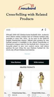 Nautica PrestaShop Mobile App