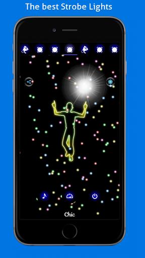 Disco Light: Flashlight with Strobe Light & Music 4.5 Screenshots 14
