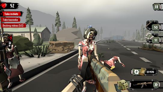 Walking Zombie 2 Zombi Katliamı Hileli Apk Güncel 2021** 3