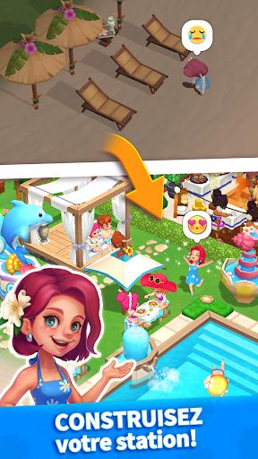 Télécharger Mon petit paradis : gestion de station de vacances APK MOD (Astuce) screenshots 1