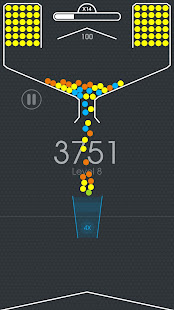 100 Balls - Tap to Drop the Color Ball Game