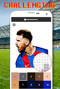 Football Logo Coloring By Number – Pixel Art Apk Son Sürüm 2021 5