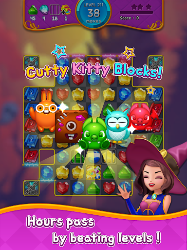 Jewel Witch - Best Funny Three Match Puzzle Game 1.8.2 screenshots 16