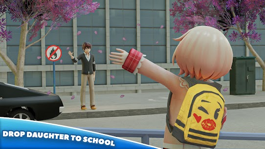 Anime Father Simulator: Virtual Family Life 3D Mod Apk 0.4 (Lots of Gold Coins) 3