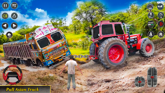 Real Tractor Pulling Simulator  Offroad | City Mod Apk Download 1