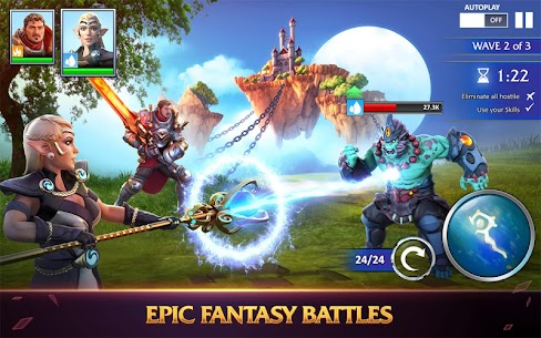 Forged Fantasy Mod 1.7.7 Apk [God Mod] 3