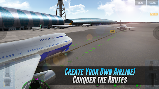 Airline Commander (MOD, Unlimited AC Credits) for Android 1