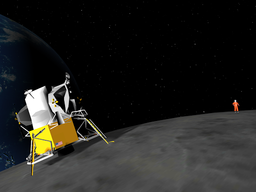 VR Moon Landing Roller Coaster 360 Virtual Reality 1.13 screenshots 6