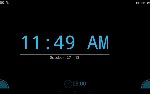 Day and night clock Screenshot