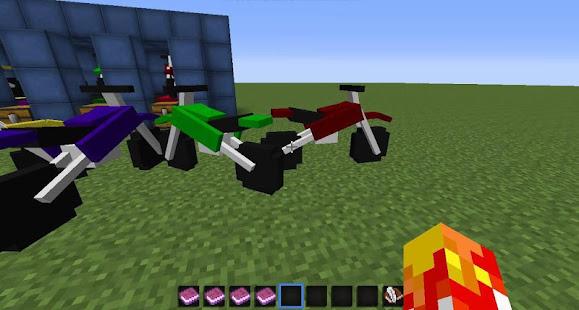 Sport Bikes Mod for MCPE 4.4.1 Screenshots 3