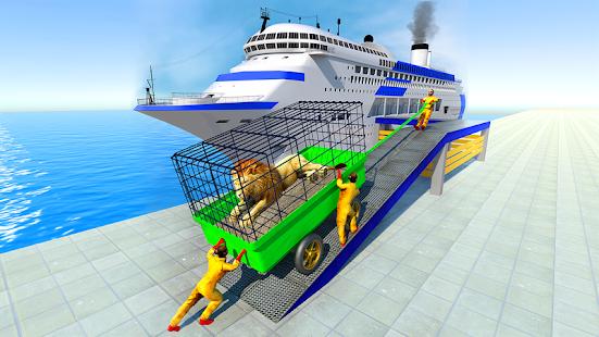 real wild animal transporter truck : transport sim hack