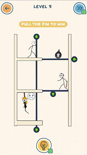 Draw Drag Delete Pin Pull to something screenshots 3
