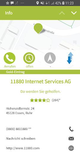 11880.com - Telefonbuch & Anruferkennung  screenshots 4