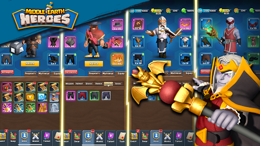 Middle Earth Heroes 1.0.9 screenshots 3