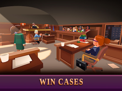 Law Empire Tycoon - Idle Game Justice Simulator - Screenshot 4