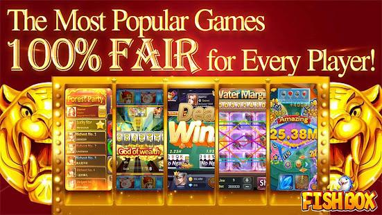 Fish Box - Casino Slots Poker & Fishing Games screenshots 1