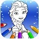 Ice Princess Coloring Pages
