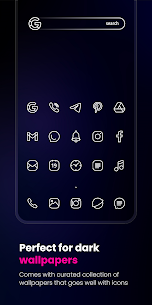 Caelus White Icon Pack APK (PAID) Download Latest 2