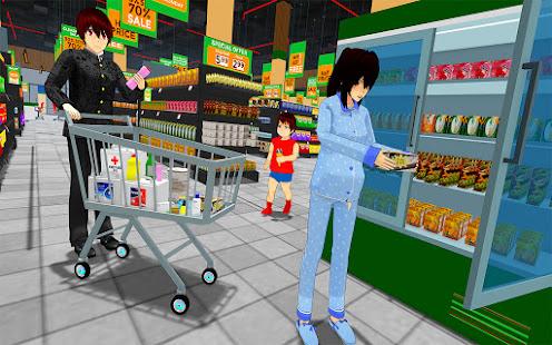 Anime Family Simulator: Pregnant Mother Games 2021 1.1.4 screenshots 1