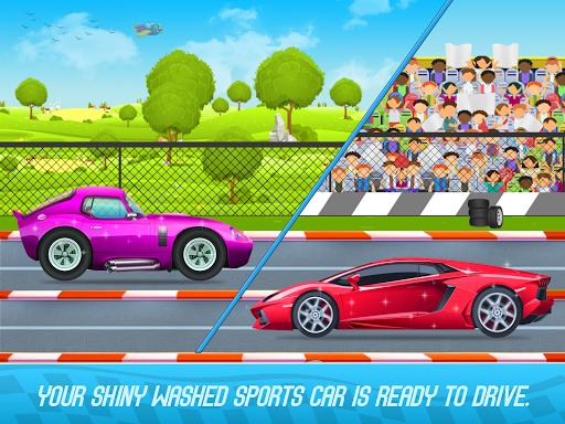 Kids Sports Car Wash Cleaning Garage 1.16 screenshots 18