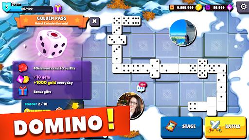 Dominoes - 5 Boards Game Domino Classic in 1 screenshots 5