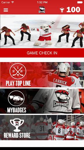 charlotte checkers game screenshot 2