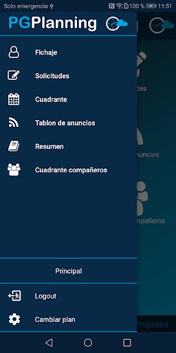 pgplanning portal del empleado screenshot 3