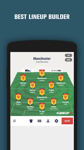 Lineup11- Football Line-up 1.1.6 Screenshots 2