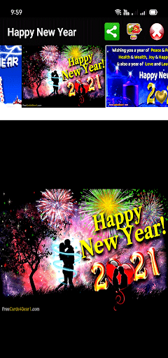 Happy New Year Greetings 2021  Screenshots 7