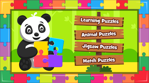 Animal Puzzle for kids - Preschool Learning Games  screenshots 7