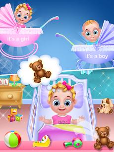 妊娠中のママ&ツインベビーシッターゲームのおすすめ画像3