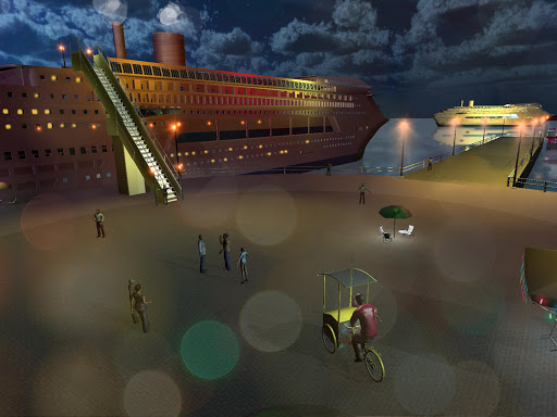 Transport Cruise Ship Game Passenger Bus Simulator 3.0 screenshots 5