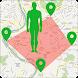 GPSランドエリア電卓:カスタムパスを描く - Androidアプリ
