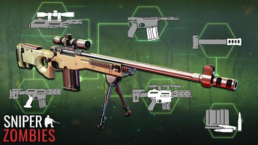 Zombies Sniper: Jeux de Zombie APK MOD – ressources Illimitées (Astuce) screenshots hack proof 2