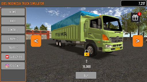 IDBS Indonesia Truck Simulator apkpoly screenshots 2
