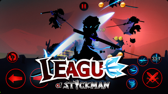 Tải League of Stickman MOD APK 6.1.4 (Mua sắm miễn phí) 4