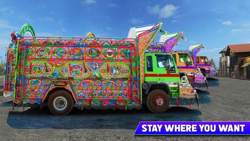 Pak Truck Driver: Heavy Cargo Trailer Truck Apps  screenshots 23