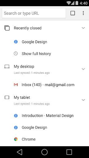 Chrome Beta 86.0.4240.30 screenshots 4
