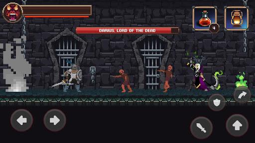 Mortal Crusade: Platformer with Knight Adventure Knight Adventure screenshots 13