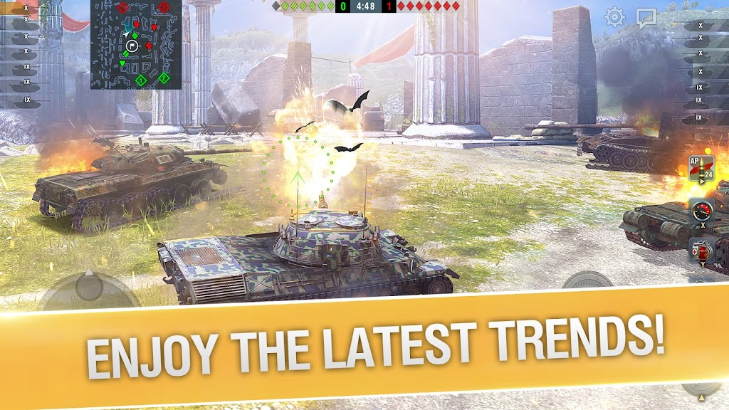 World of Tanks Blitz PVP MMO 3D tank game for free poster 1