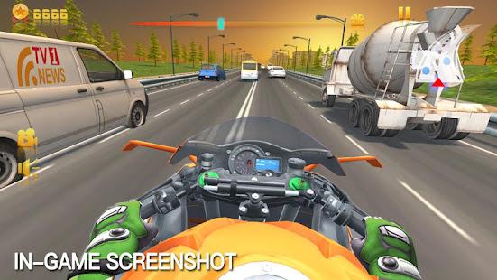 Traffic Speed Moto Rider 3D 2.0.1 Screenshots 8