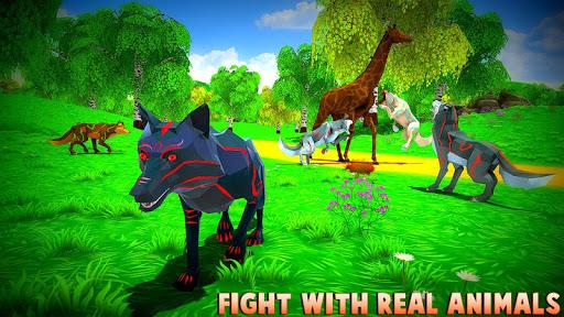 Wild Wolf Chasing Animal Simulator 3D 1.5 Screenshots 1