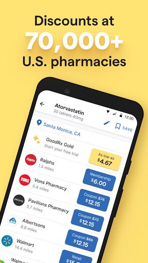 GoodRx: Prescription Drugs Discounts & Coupons App apktram screenshots 2
