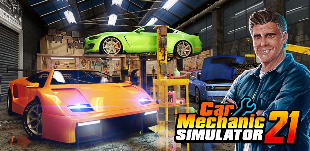 Car Mechanic Simulator 21: repair & tune cars poster 0