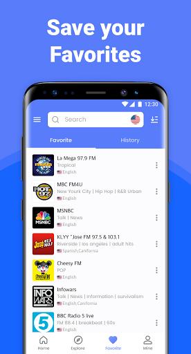 My Radio :Free Radio Station, AM FM Radio App Free