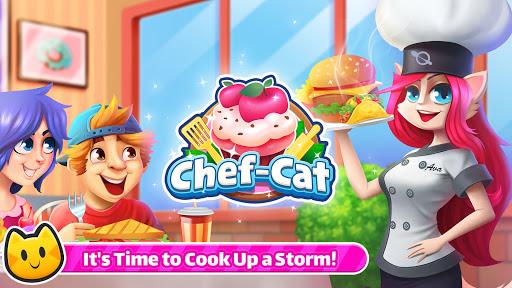 Chef Cat Ava & Cute Cat Angela's Cooking Craze 1.0.6 screenshots 1