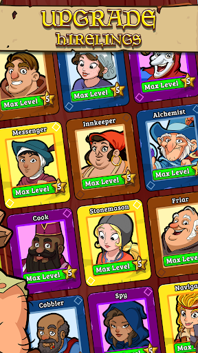 Royal Idle: Medieval Quest 1.27 screenshots 2