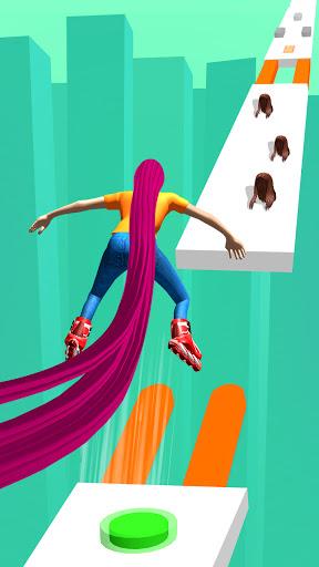 Code Triche Hair runner challenge game 3d body rush race hairs (Astuce) APK MOD screenshots 2