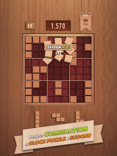 Woody 99 - Sudoku Block Puzzle - Free Mind Games 1.3.8 Screenshots 7