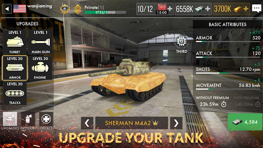 Tank Warfare: PvP Blitz Game 1.0.19 screenshots 16